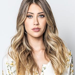 Blonde hair with Full Highlights