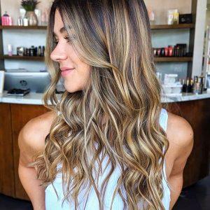 Blonde Balayaage on Livid In Hair