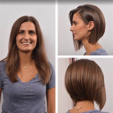 Long Bob - Before and After