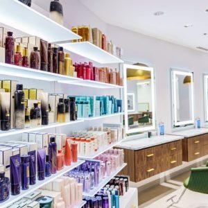 Hair Salon Stylist Stations